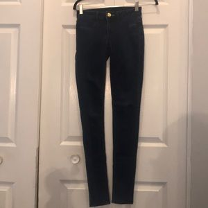 Juicy Couture dark denim jeggings size 24